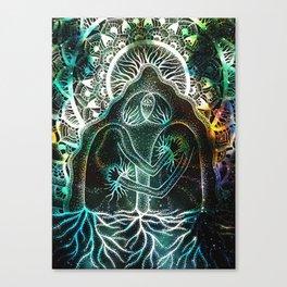 Interbeing Canvas Print