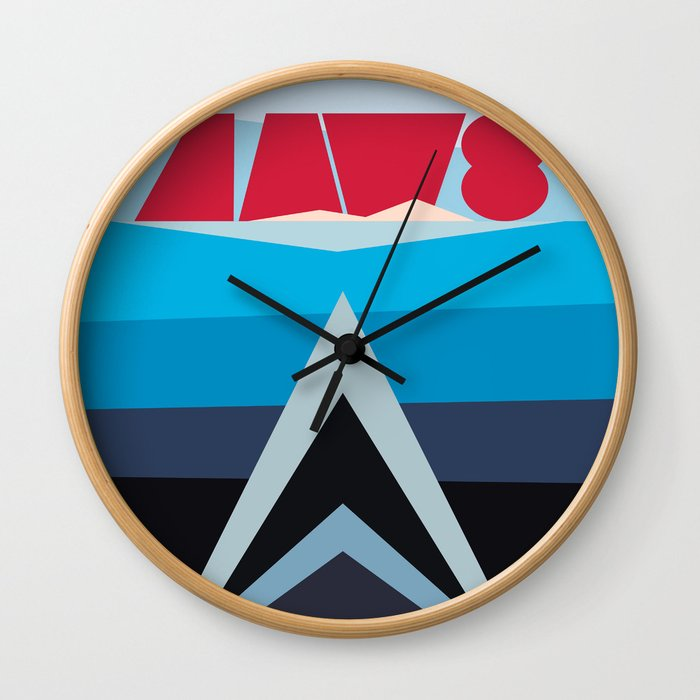 Jaws Wall Clock