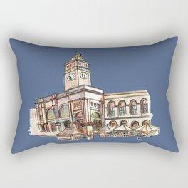 Ferry Building Rectangular Pillow
