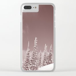 Winter 10 Clear iPhone Case