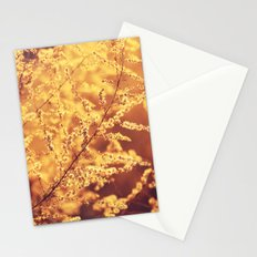 Fiery Blooms Stationery Cards