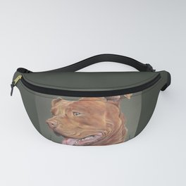 True Love - Red Nose Pitbull Terrier Fanny Pack
