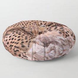 Cheetah Brothers of the Kalahari Floor Pillow