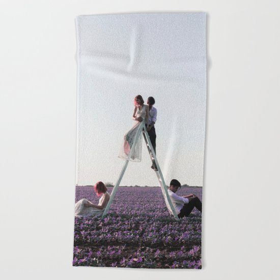 Separated Beach Towel