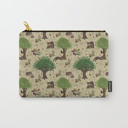 Mr Pine Marten's woodland adventure Carry-All Pouch