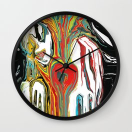 Love Colors All Wall Clock