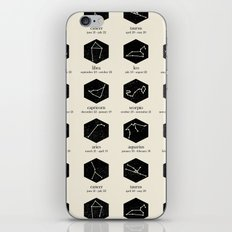 Zodiac iPhone & iPod Skin