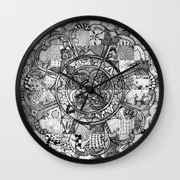 Tibetan Crest Wall Clock