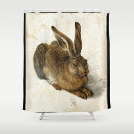 Albrecht Durer - Hare Shower Curtain