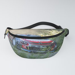 Rally car - Speed in nature Fanny Pack