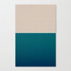 Empty Ocean Canvas Print