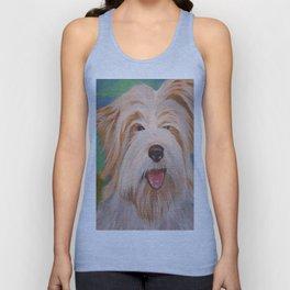 Terrier Portrait Unisex Tank Top