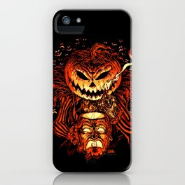 Halloween Pumpkin King (Lord O' Lanterns) iPhone Case