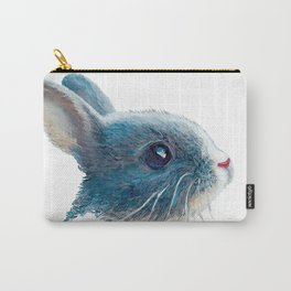 cute bunny illustration Carry-All Pouch
