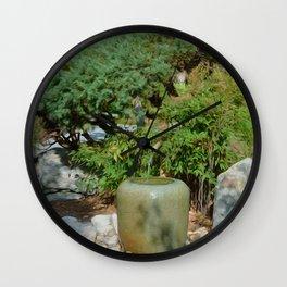 Japanese garden 7 Wall Clock