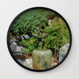 Japanese garden 7 Wall Clock