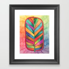 Just Leafy Framed Art Print