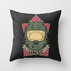 Halo UNSC Throw Pillow