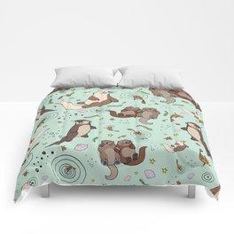 Sea Otters Comforters