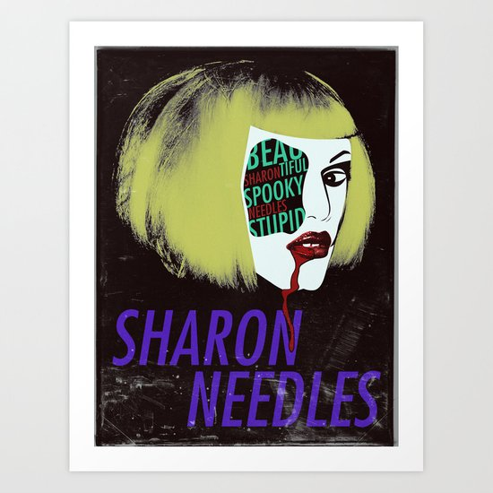 Sharon Needles Poster Art Print