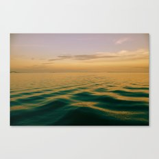On Green Waters Is Where I Lie Canvas Print