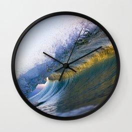Gold Band Wall Clock
