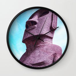Japan's Easter Islands in Miyazaki| Moai Statues Wall Clock