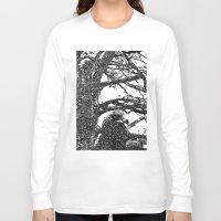 hawk Long Sleeve T-shirts featuring Hawk by Anand Brai