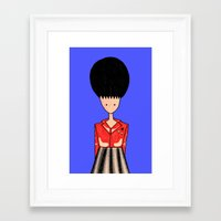 rockabilly Framed Art Prints featuring rockabilly by Luana Rios