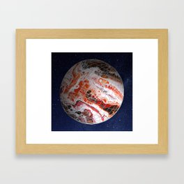 Interplanetary Framed Art Print