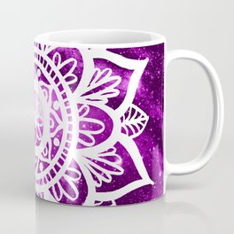 Purple Galaxy Mandala Coffee Mug