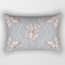 Insecta Pattern - Victorian Rectangular Pillow
