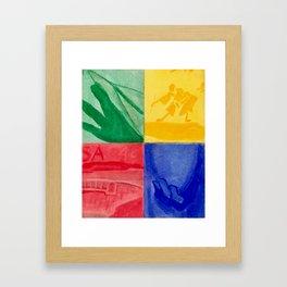 By Hand Framed Art Print