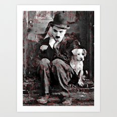 A brilliant man - sketch Art Print