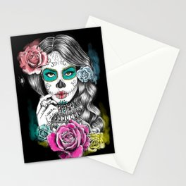Aaliyah - Day of the Dead Stationery Cards