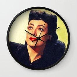 Joan Crawford, Hollywood Legend Wall Clock