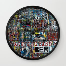 Achtung baby Wall Clock