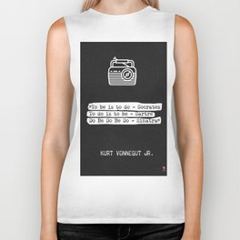Kurt Vonnegut Jr. quote Biker Tank