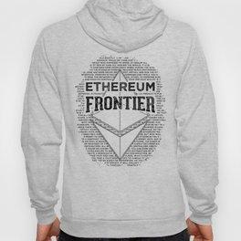 Ethereum Frontier (black on orange) Hoody