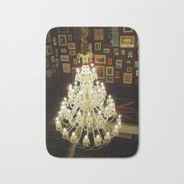 elegant chandelier Bath Mat