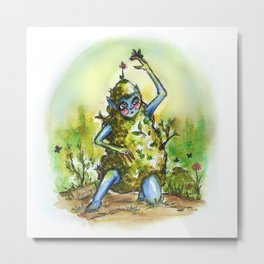 Of the Woodland Fae Metal Print