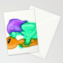 Beyond Galaxies Stationery Cards