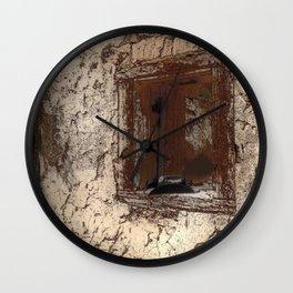 A Cowboy's Memories  Wall Clock