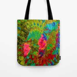 Partyin' in the garden... Tote Bag