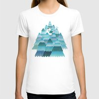 outdoor T-shirts featuring Tree Hugger by littleclyde