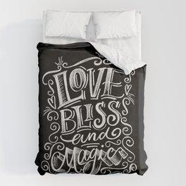 love, Bliss & Magic Duvet Cover