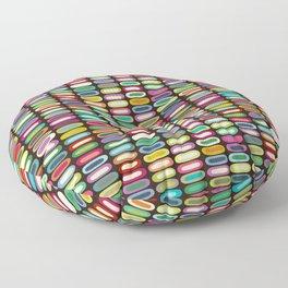 New York lozenge chocolate Floor Pillow