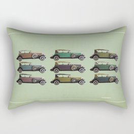 Five Cadillacs Rectangular Pillow