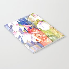Magnolia Blossoms Notebook