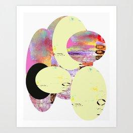 Circular Days Art Print